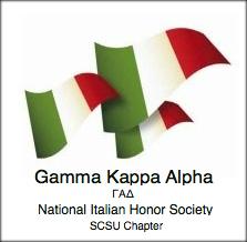 letter logo gamma kappa alpha